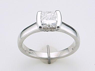 .91ct Cushion Cut Engagement Ring