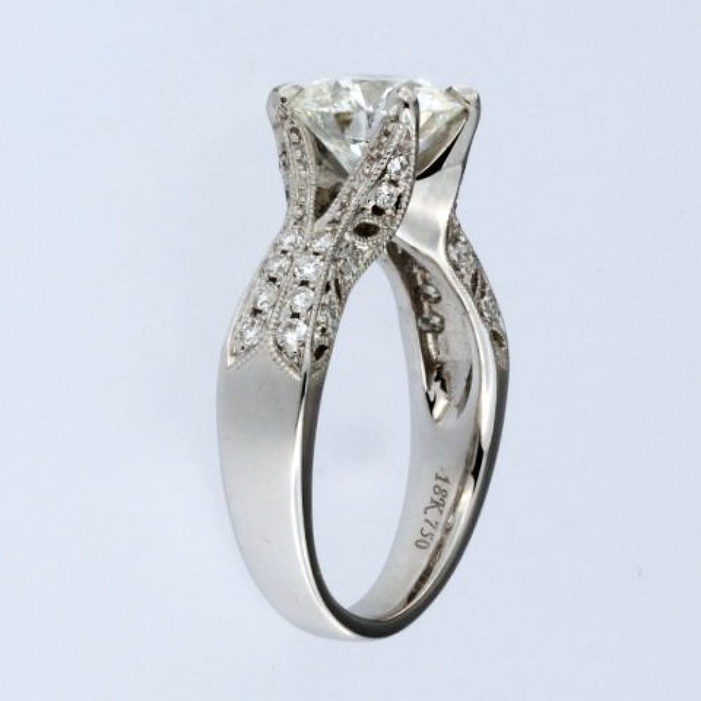 2.12 Ct Diamond Engagement Ring