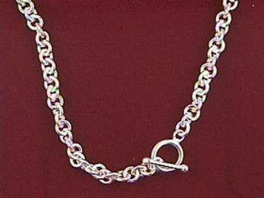18 Inch Toggle Necklace