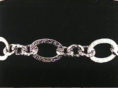14kw Fancy Link Bracelet