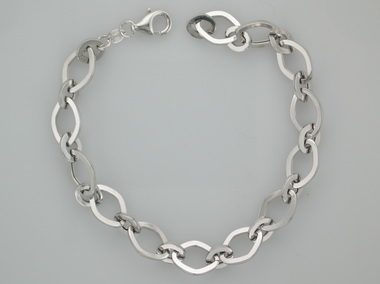 10kw Oval Link Bracelet