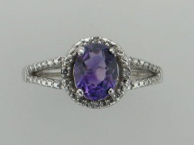 10kt Amethyst Ring