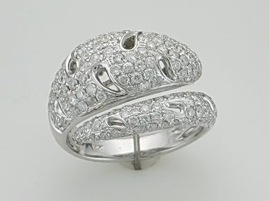 14kt Fancy Diamond Ring