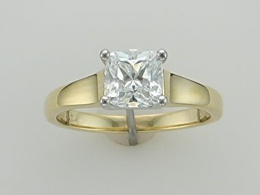 0.87 Ct Birks Engagement Ring