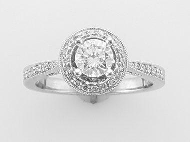 .56 Ct Diamond Engagement Ring