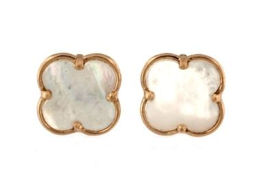 Quatrefoil Stud Earrings