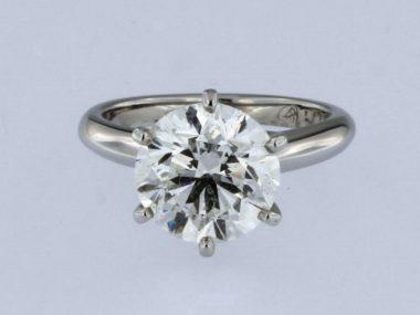 3.51 ct Engagement Ring