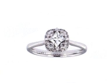 0.57 ctw Engagement Ring