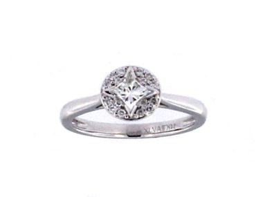 0.63 ctw Engagement Ring