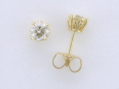 0.96 ctw Diamond Stud Earrings