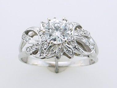 1.04 CT Centre Diamond Ring