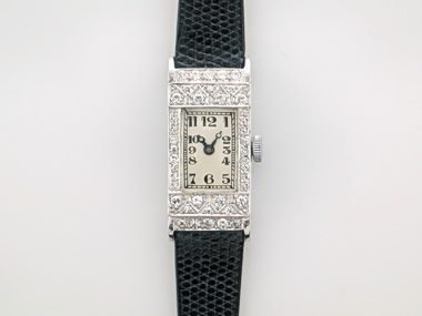 Ladies Vintage Diamond Watch