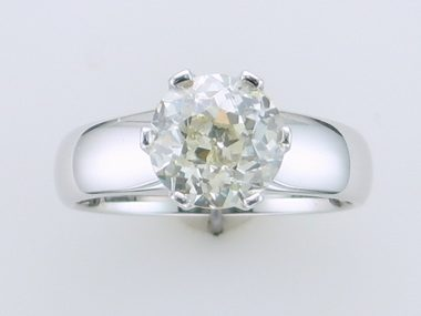 2.19 ct Old European Cut Ring