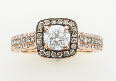 14KT Rose Gold Diamond Ring