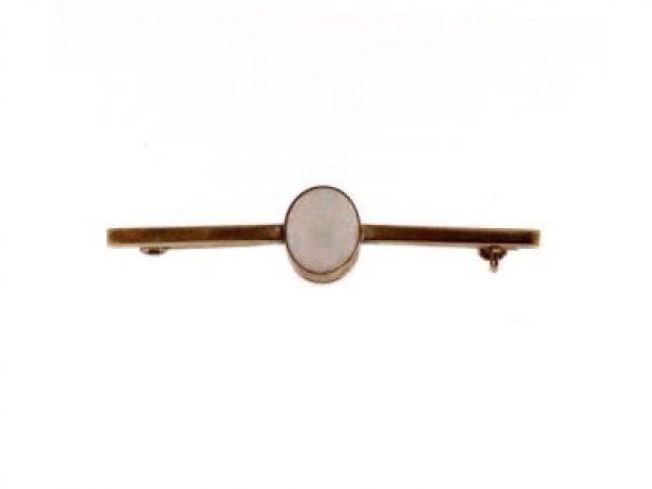9KT Opal Bar Pin