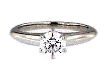 Tiffany Platinum Engagement Ring