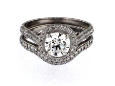 Platinum Engagement Set