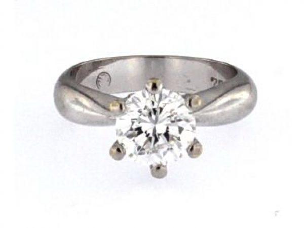 1.59 ct Engagement Ring