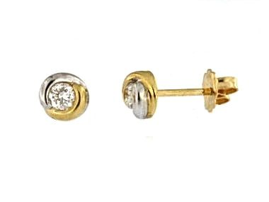 0.33ctw Fancy Diamond Studs