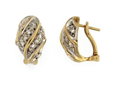 14KT Diamond Earrings