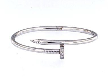 18Kt Nail Bracelet