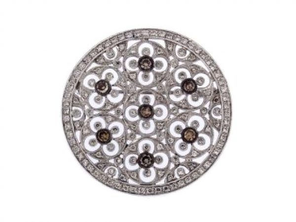 Diamond Pendant / Brooch