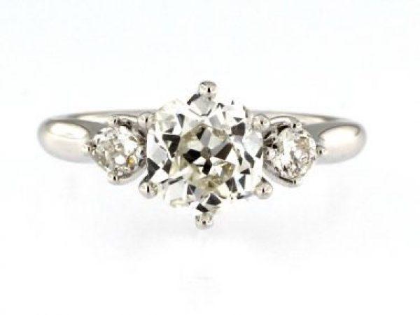 Old European Cut Ring
