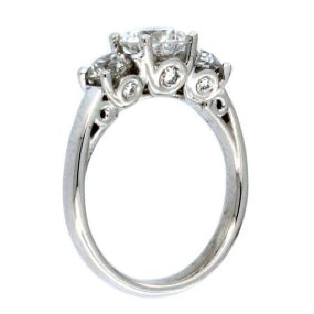 2.16 ctw Trinity Ring