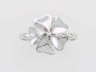 14KT Flower Ring