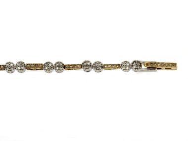 10KT Bracelet with Diamonds