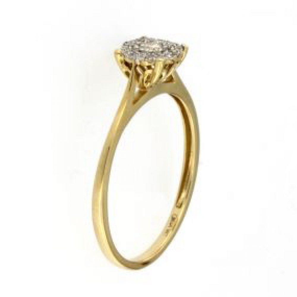 0.35 ctw Diamond ring