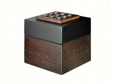 Easy Scent Black Wooden Cube