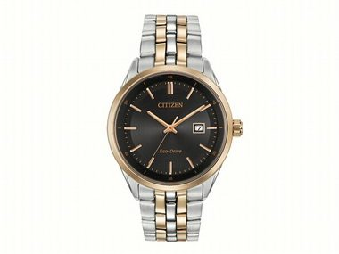 Gents Two-tone Eco-Drive