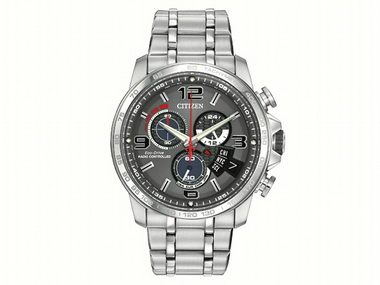 Gents Eco-Drive Chrono Time A-T