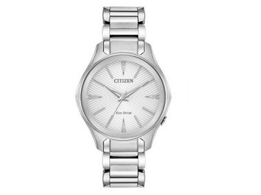 Ladies Silver Mondena Eco-Drive