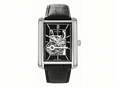 Rotary Skeleton Automatic Watch