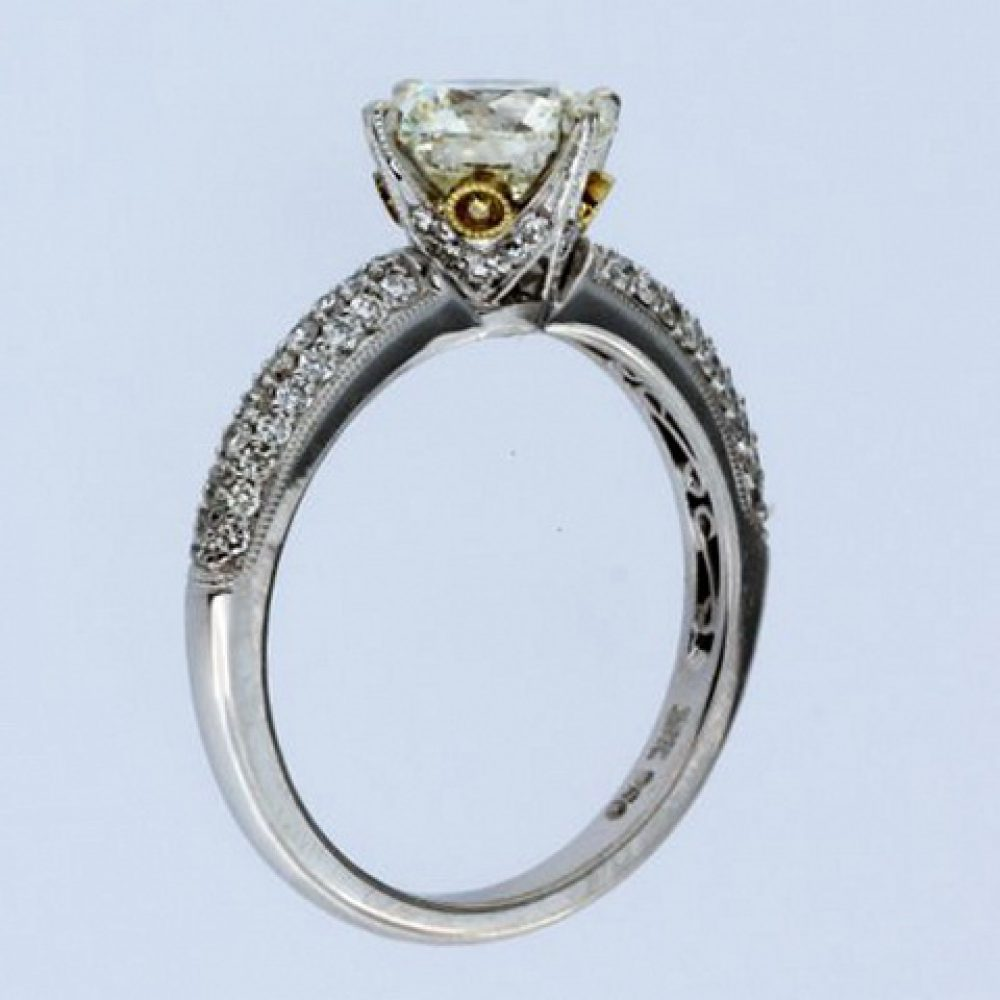 1.59 Ct Diamond Engagement Ring