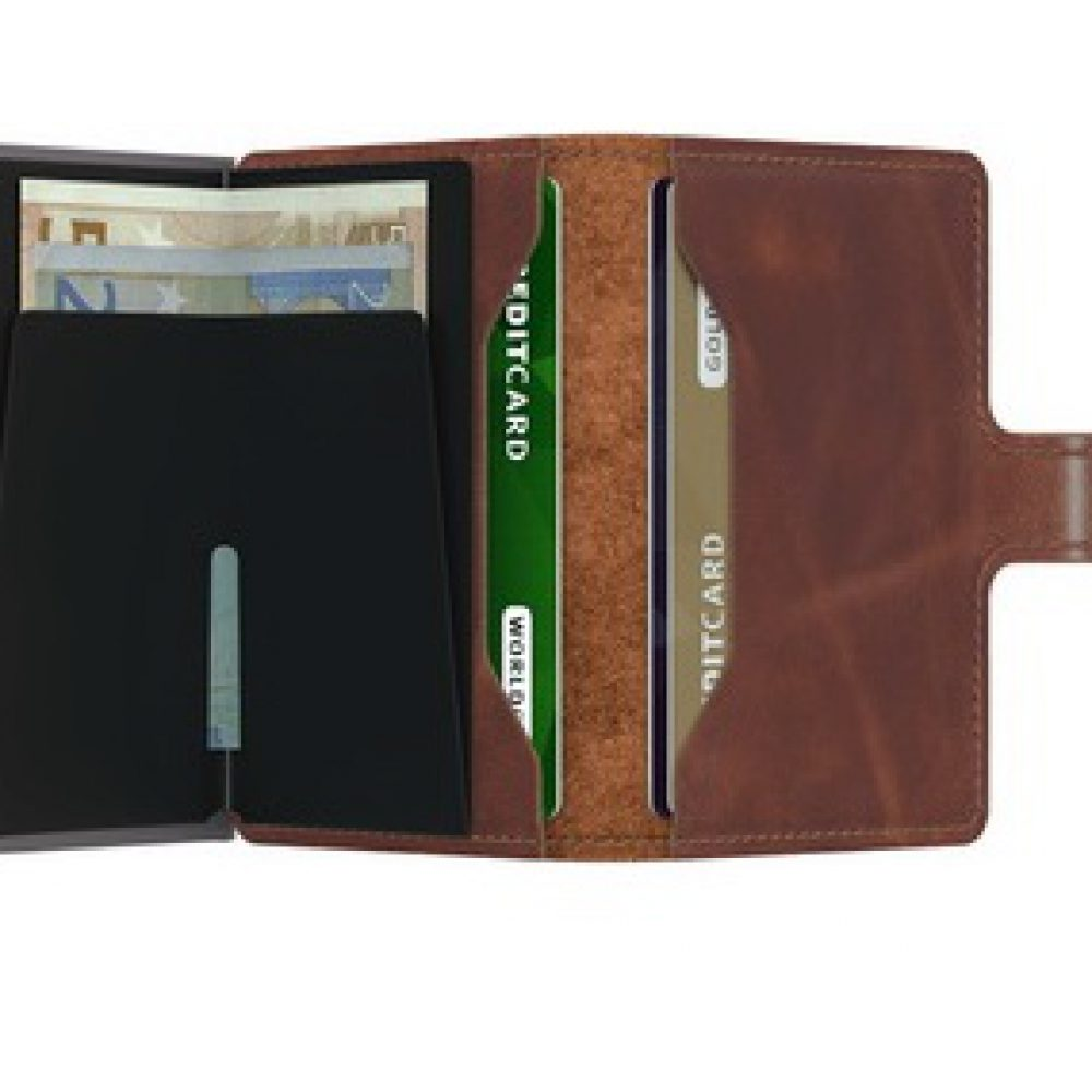 Secrid Vintage Brown Miniwallet