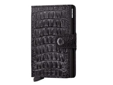 Nile Black Miniwallet