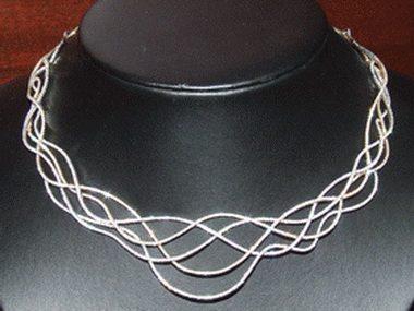 8.38ctw Swirl Necklace
