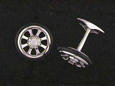 .06ctw Tire Cufflinks
