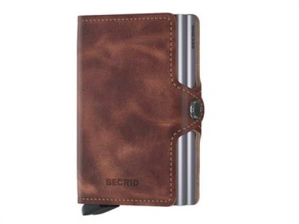 Secrid Vintage Brown Twin Wallet