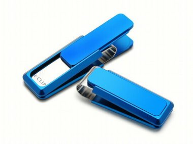 Blue Money Clip