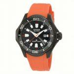 Orange Strap Diver Eco Drive