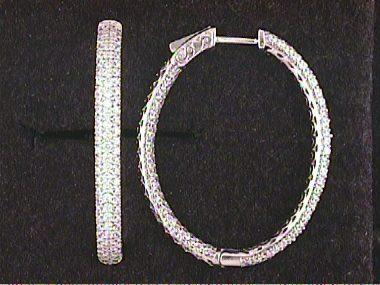 Silver Cubic Earrings