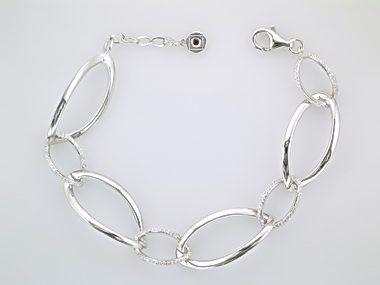 CZ Links Bracelet