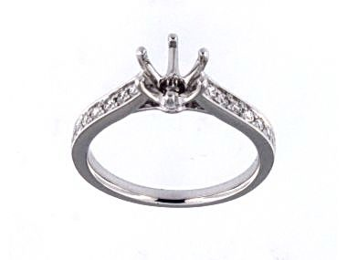 18KT 6 Claw Engagement Mount