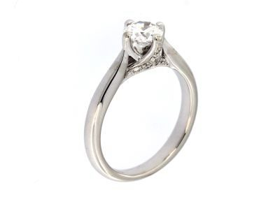 0.69 ct Centre Engagement Ring