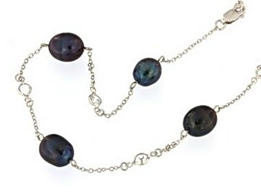 FW Pearl Tin Cup Necklace