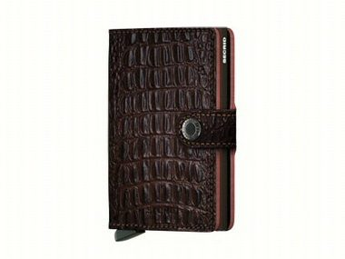 Nile Brown Secrid Wallet
